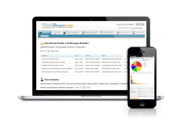 email marketing software ymlp